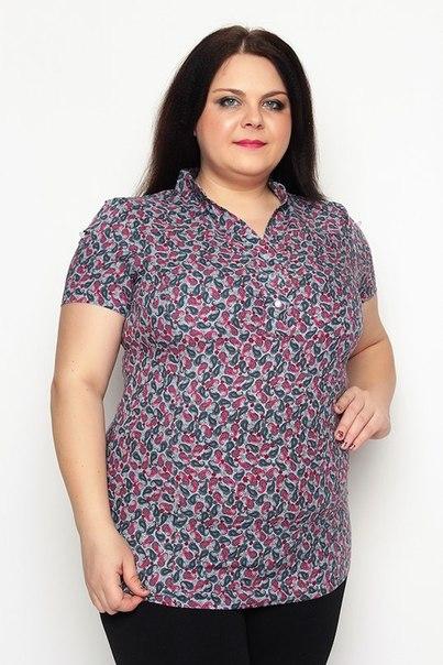 Блузки 52 Размер
