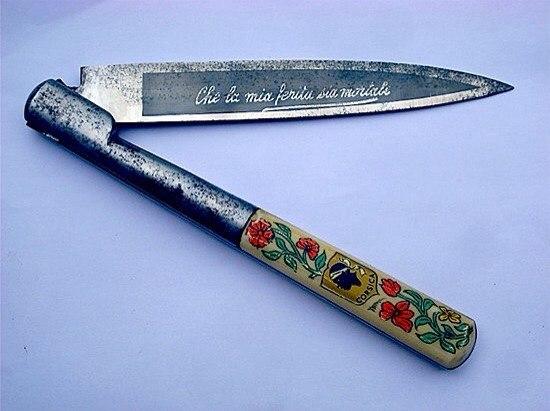 Корсиканский нож для вендетты: