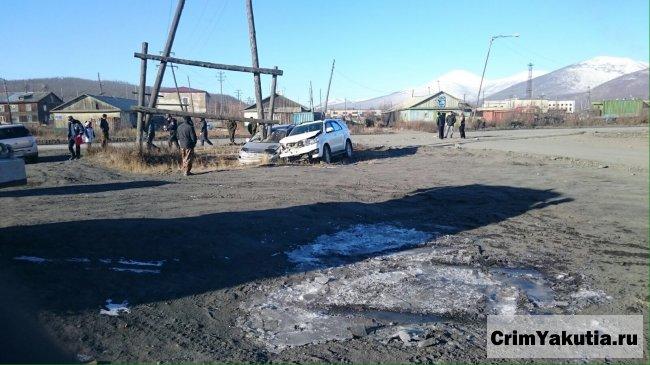 В УГИБДД прокомментировали странное ДТП в Усть-Нере