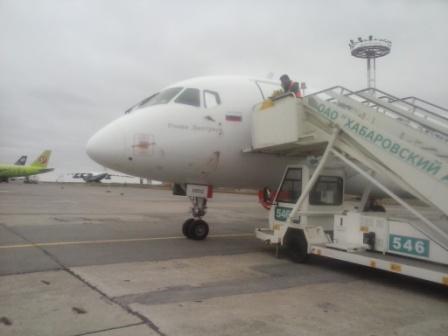 Следственный комитет на транспорте назвал причину аварийной посадки SSJ-100 в Хабаровске