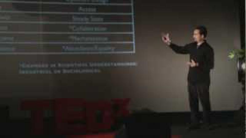 TEDxOjai Питер Джозеф Большой вопрос Русская озвучка