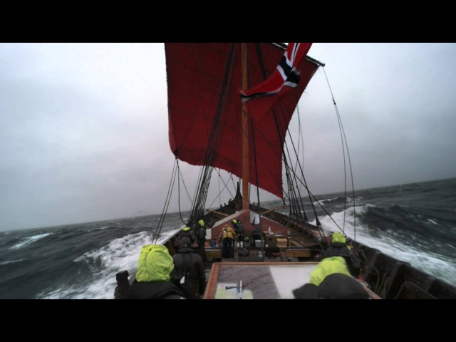 North Sea sailing with Draken Harald Hårfagre
