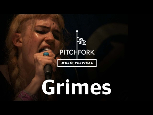Grimes performs Circumambient at Pitchfork Music Festival 2012