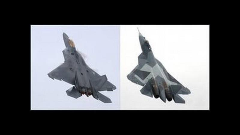 Су 37 против F 22 и YF 23 война в воздухе