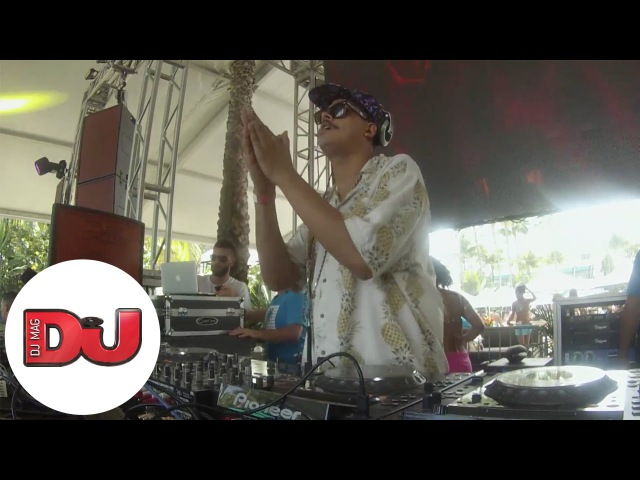 Seth Troxler in Miami Live from DJ Mag Pool Party WMC