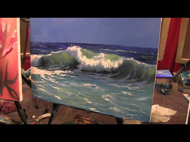 Научиться писать море уроки живописи мастер классы Сахарова