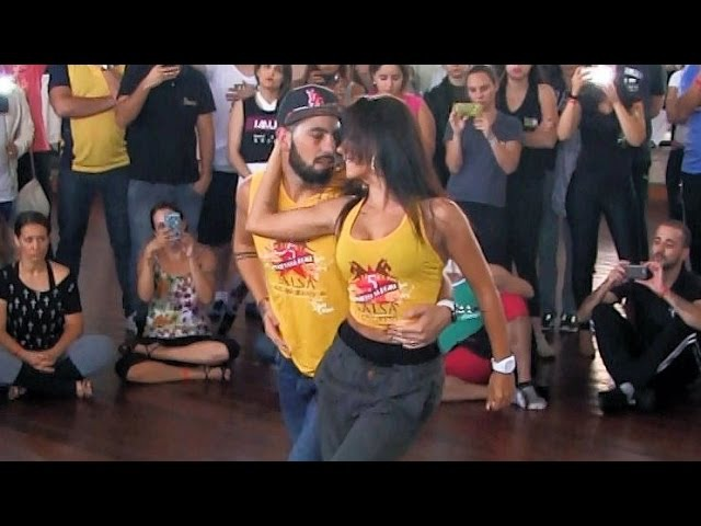 Porto Alegre Salsa Congress 2015 ~ Workshops ~ Desirée Guidonet Daniel Sánchez