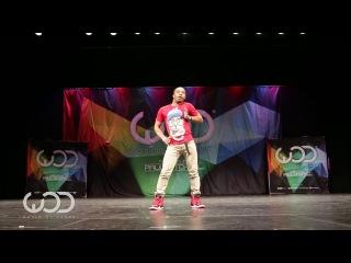 Fik-Shun FRONTROW  World of Dance Las Vegas 2014
