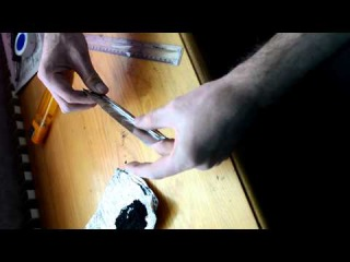 How to make visco fuse from foil как сделать фитиль виско