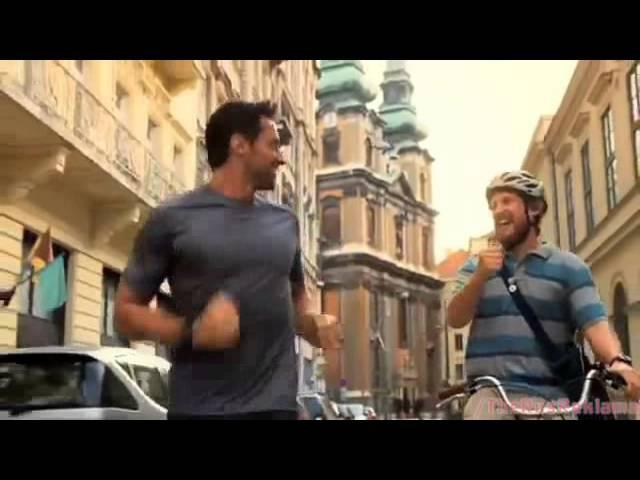 Реклама Липтон Айс Ти - Хью Джекман: Пощечина и Фанат