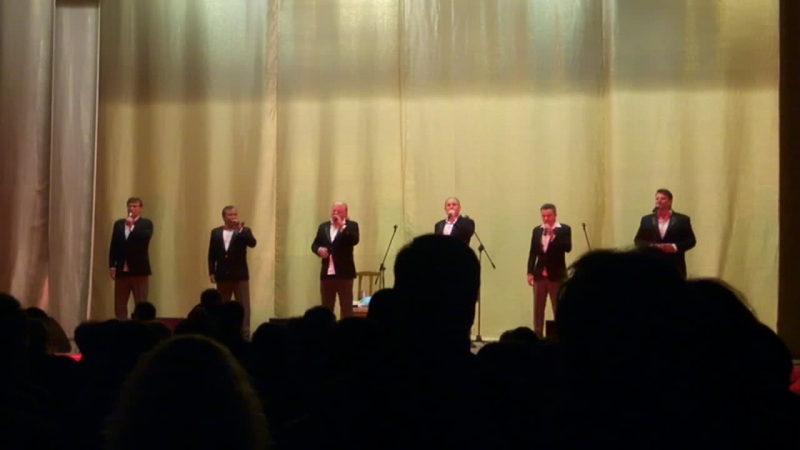 Піккардійська Терція в Кам'янці-Подільському LIVE ( Гей, плине кача, по тисині...)