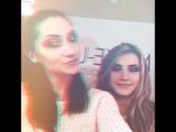 Ещё и подурачились после занятия   Видео от наших весёлых  моделек    @ make up school Inna Kolchyk