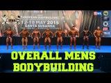 Overall Men´s Bodybuilding European Championships 2015 IFBB / EBFF