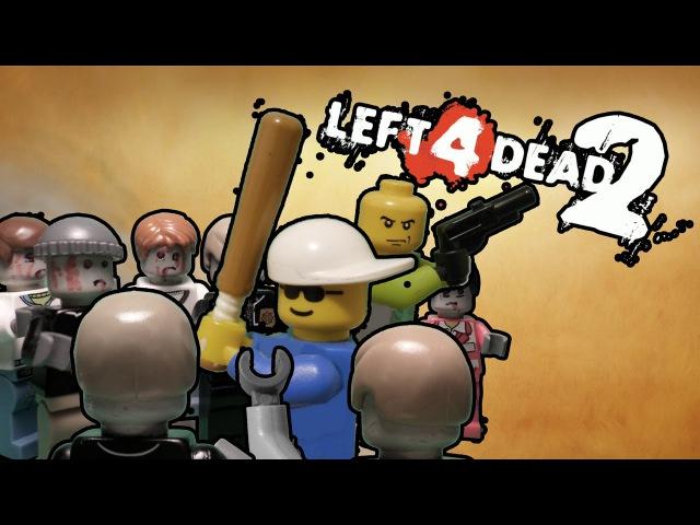 Remastered Lego Prehistory Left 4 Dead 2 ( часть 1 )