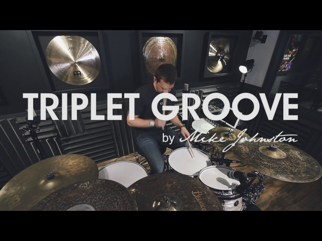 DRUM LESSON - Triplet Groove - by Mike Johnston