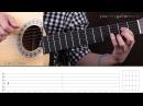 Как играть на гитаре Red Hot Chili Peppers – Road Trippin (Guitar tutorial)