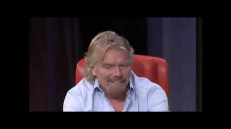TED - интервью с Ричардом Брэнсоном - Жинь на 30 000 футах