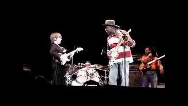 8 year old guitar whiz Quinn Sullivan and Buddy Guy