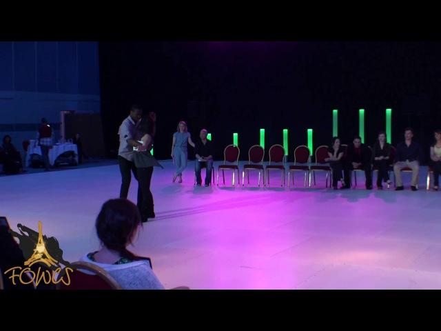 FOWCS 2015 - Inter JnJ - Achile Dinga & Barbara Oliva Lanza - Mathieu Compagnon & Tatiana Kizeeva