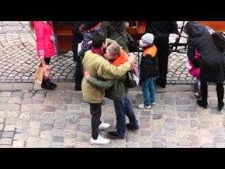 Free hugs & kisses.Lviv.
