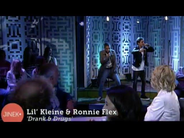 Lil Kleine Ronnie Flex Drank Drugs live bij Jinek prod Jack Chiraq NewWave