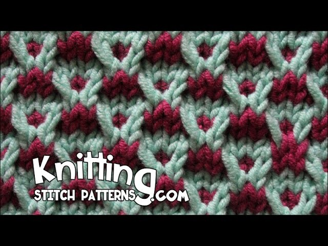 Slip-stitch Crosses Stitch