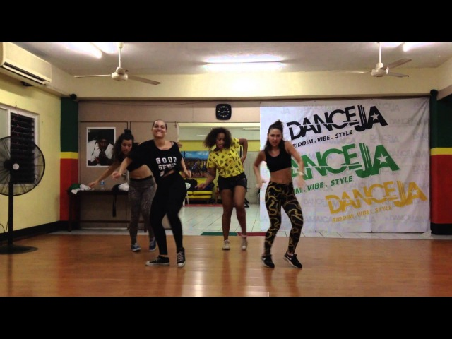 Vybz Kartel - Gal a get more | Routine in Danceja |Jamaica 2015