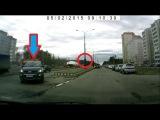 Нарушение знака Движение только прямо - Снежинск 2 мая 2015