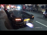 Chaos - 100 Supercars Shut Down the Streets of London - Police get Involved! | vk.com/kmh300