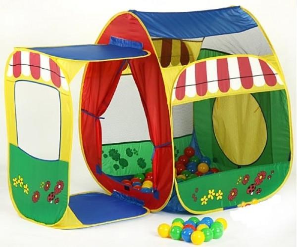 Детская палатка дома