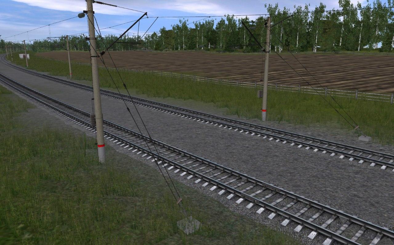 TRS: Перекраска контактной сети AC4 в РЖД
