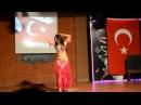 Турецкий танец живота под барабаны (Кемер, Турция)
