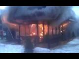 Взрыв и пожар. Одесская обл. Измаил. Бар «У фонтана».