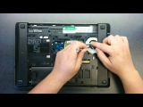 Cleaning the fan on HP ProBook 4530s laptop computer