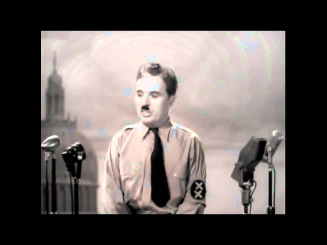 [Best Version] The Great Dictator Speech - Charlie Chaplin Time - Hans Zimmer (INCEPTION Theme)