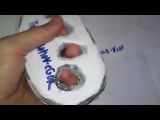 как сделать кастет (картонная )версия ч 2