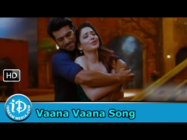 Vaana Vaana Velluvaye Video Song - Racha Movie || Ram Charan || Tamannaah