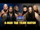 LUCHA COMPLETA Roman Reigns, Big Show Mark Henry vs The Wyatt Family SmackDown ᴴᴰ