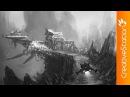 Remote space port - Concept art ( Photoshop )   CreativeStation