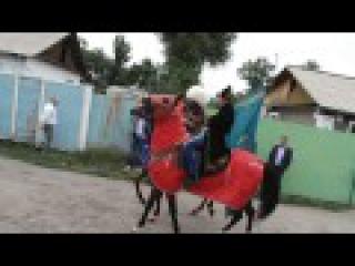 Свадьба Ахыска Турков - За невестой на лошадях