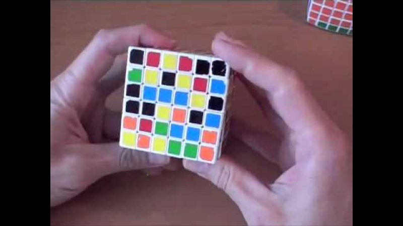 Как собрать кубик 6х6. ч.1/4 Центры How to solve 6x6. Part 1/4 Centers