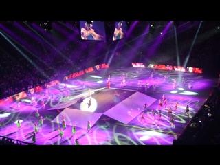 Ледовый дворец, мюзикл для первоклассников (исполнительница - финалистка