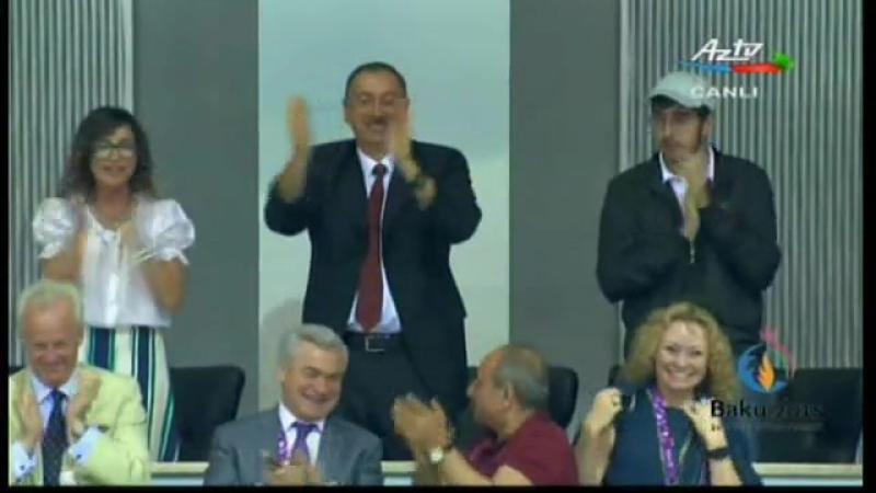 Azərbaycan Avropa Oyunlarında 9 cu qızıl medalını qazandı V