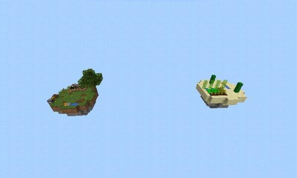 Эпическая карта SkyWorld.