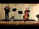Piazzolla Three Tango Violin Contrabass duet Tatiana Porshneva Gennady Krutikov