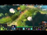 {Dota 2} Nexus plays Kunkka. Epic game [06.05.2015]