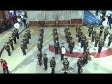 Необычное поздравление с 8 Марта от военного оркестра МО РК.