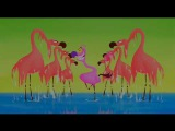 Flamingos from Fantasia 2000 (Camille Saint-Saens' Carnival of the Animals, Finale)