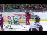 Кубок Шпенглера 2014, Салават Юлаев vs Женева-Серветт - 0:3 (0:0, 0:2, 0:1)