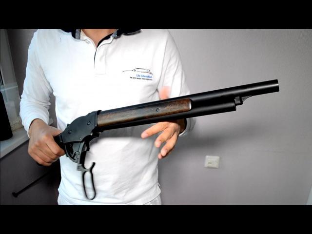 Обзор страйкбольного ружья Терминатора Marushin M1887